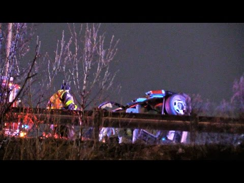 Clifton NJ Fatal MVA Overturned vehicle Route 46 West Near Route 21 South Dec 26th 201