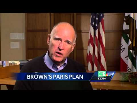 KCRA 3: Brown talks climate change in one-on-one interview