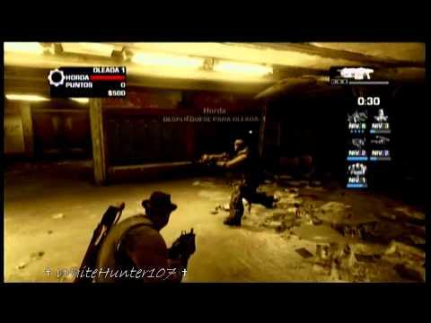 """Gears of War 3 Tutorial Como Obtener Mutador """"Municion Infinita"""" y Medalla """"Ingeniero de Campo"""""""