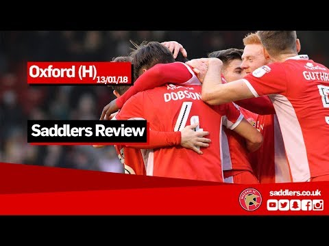 SADDLERS REVIEW | Walsall 2-1 Oxford United | Jon Whitney, George Dobson, Liam Roberts