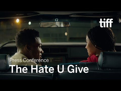 Download THE HATE U GIVE Press Conference | TIFF 2018