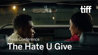THE HATE U GIVE Press Conference | TIFF 2018