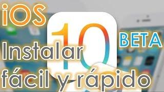 ▶ iOS 10 BETA INSTALAR, FÁCIL Y RÁPIDO | HOW TO | ARTUROMEZDA