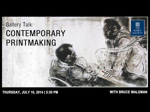 Gallery Talk: Contemporary Printmaking