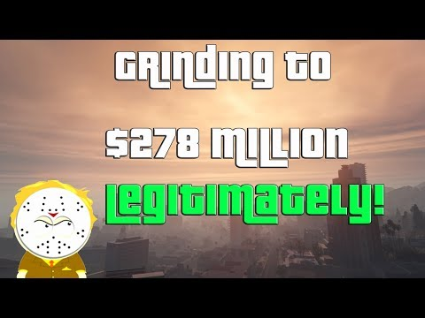 GTA Grinding to $278 Million Legitimately and Helping Subs
