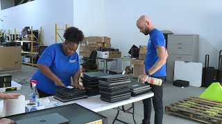 400+ laptops going to low-income families