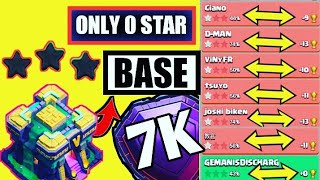 Only 0 Star | Best Th14 War Base (2021)+6 Defense Replay Proof+ LINK | Th14 War Base W/L June 2021