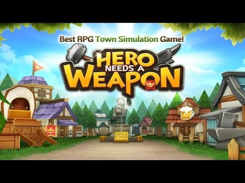 Hero needs a Weapon (by IDEABOXGAMES Co.,Ltd) - iOS/Android - HD Gameplay Trailer