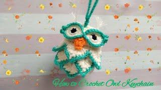 How to Crochet Owl Keychain