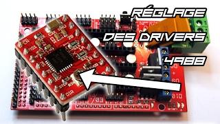 Réglage des contrôleurs de moteurs pas-à-pas 4988 (Pololu)