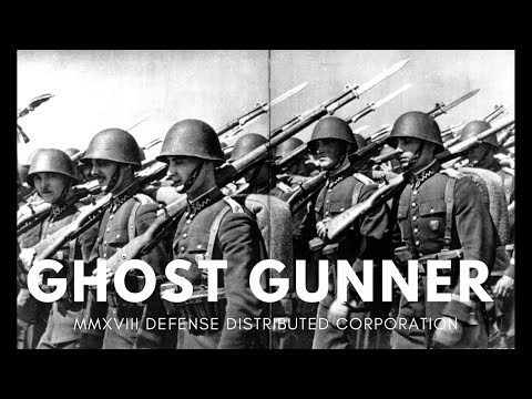 Defense Distributed Ghost Gunner 2: A /k/ommando's First