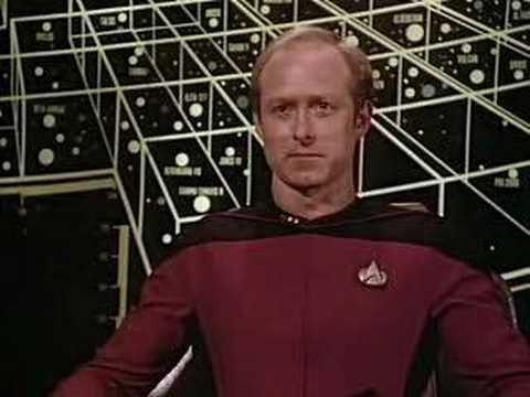 Star Trek - Picard and Riker blow up an alien
