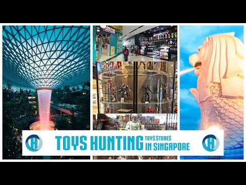 Toys Stores HUNTING In Singapore (ENG)