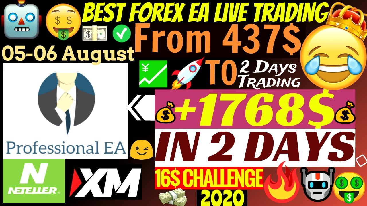 📈 Forex Trading EA Makes Live Profitable Account Grow +1768$ In 2 Days!!!🤑 | Professional EA