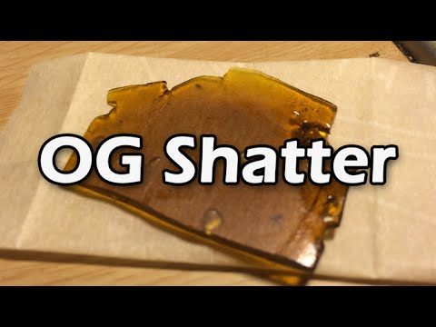 OG Shatter Review! From PLC Delivery! 2016!