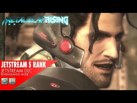Metal Gear Rising - Jetstream Sam DLC: All Fights with S Rank (Revengeance)