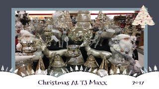 Christmas Decor Shopping At TJ Maxx!  2017