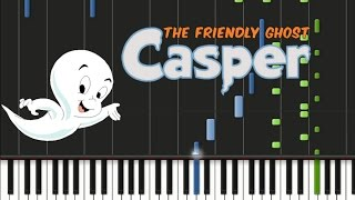 Casper the Friendly Ghost - Theme Song Synthesia Tutorial