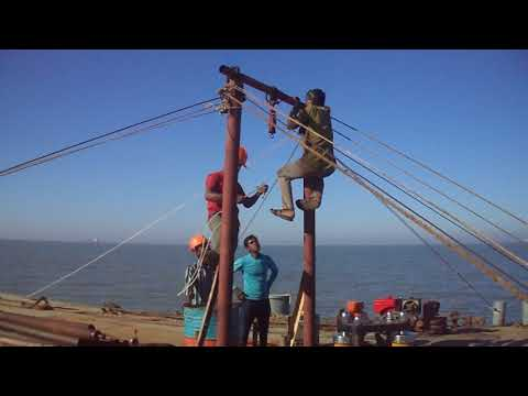 CPTu, Cone Penetration Test BY AB GEOTECH MARITIME LIMITED ON OFFSHORE AT, CHITTAGONG, BANGLADESH