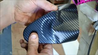 AWESOME! EASY VINYL WRAP by YOURSELF! WATCH !! SUBSCRIBE..HAVE A GO! 3M.