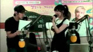 [20080730] SNSD Sunny & SUJU Sungmin (Last Chunji Broadcast)