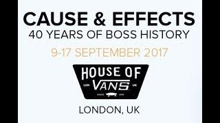 BOSS Cause & Effects - Exhibition Walk-through