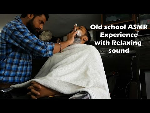 ASMR - Extremely Relaxing Haircut followed by shave and head massage