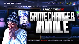 Madden NFL 15 Ultimate Team - SHOW ME HONORS THOMAS DAVIS! GAMECHANGER BUNDLE PACK OPENING - MUT 15