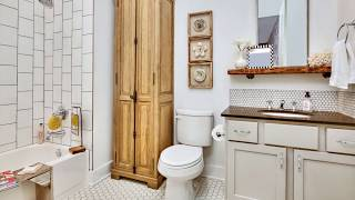 Tiny Apartment Bathroom Ideas to Help You Save Space
