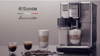 Кофемашины Incanto_AQUACLEAN(Кофемашина Saeco Incanto задает новые стандарты в своем классе. Поражающий своей изысканностью корпус вмещает..., 2016-01-13T11:48:12.000Z)