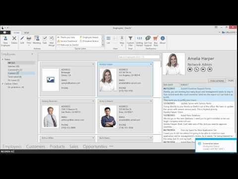 WPF SAMPLE APPLICATIONS   Outlook Inspired App