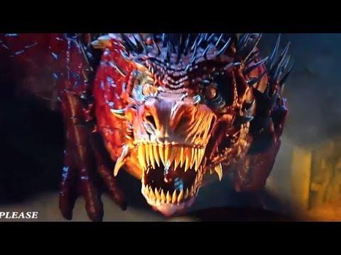 Golden Dragon War - Transformation Fight Scene HD