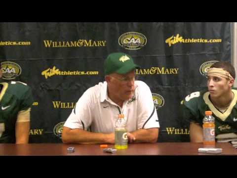 2010 Tribe Football:  VMI Post Game Interviews
