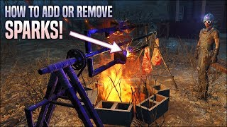 How to Add or Remove Settlement Sparks 🎇 Fallout 4 No Mods Shop Class
