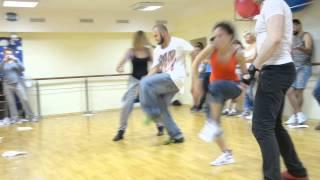 Танцевальный мастер класс History of drama от Мax Шаталов & Елена Шаталова 2014 09 27 ч 1