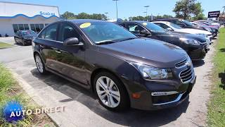 2015 Chevrolet Cruze LTZ RS - Used Car Review | Charleston Auto Direct - June 2017