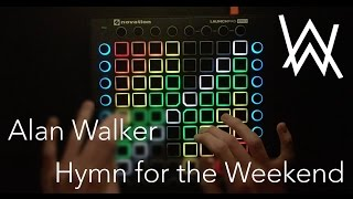 Alan Walker - Hymn For The Weekend (ft Coldplay) | Launchpad Pro Cover + Project File