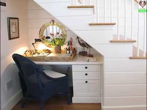 How to build storage space under your Stairs | under stairs storage ideas