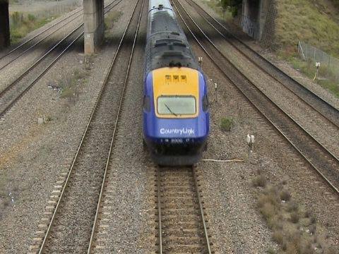 Countrylink XPT passenger train - Australias high speed train