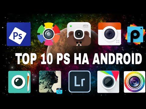 Топ 10 фоторедакторов/ программ для фотошопа на андроид