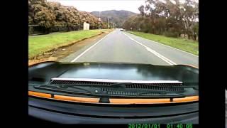 Fiat 124 Jerrari Coupe Thule Incline test up
