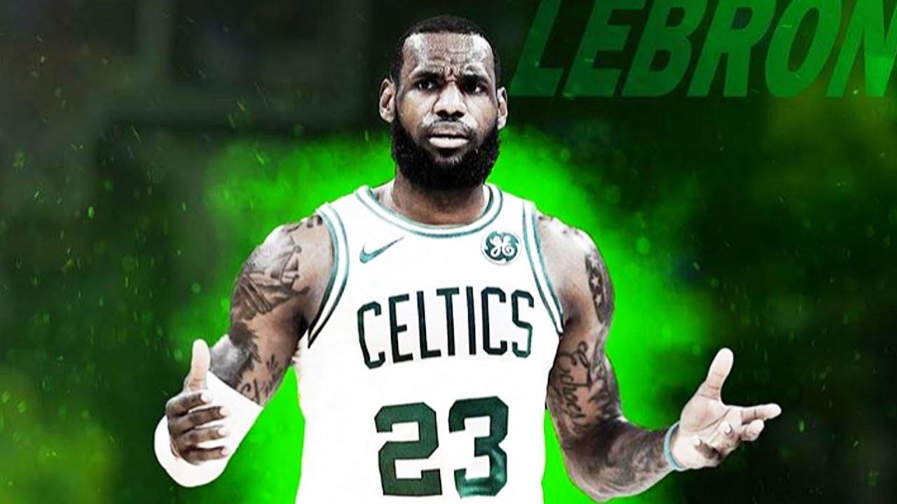 fd19a9e61a9 LeBron James Joins Kyrie Irving on the Boston Celtics (Parody) - YouTube
