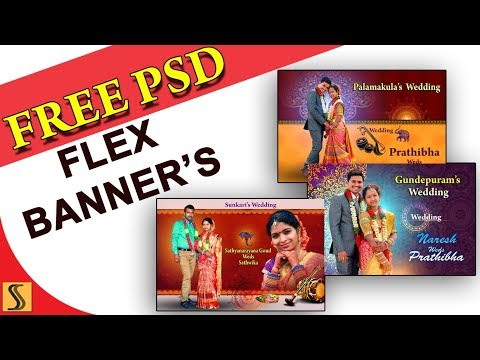 2018 Free Psd Design Flex Banners Templates For Photoshope