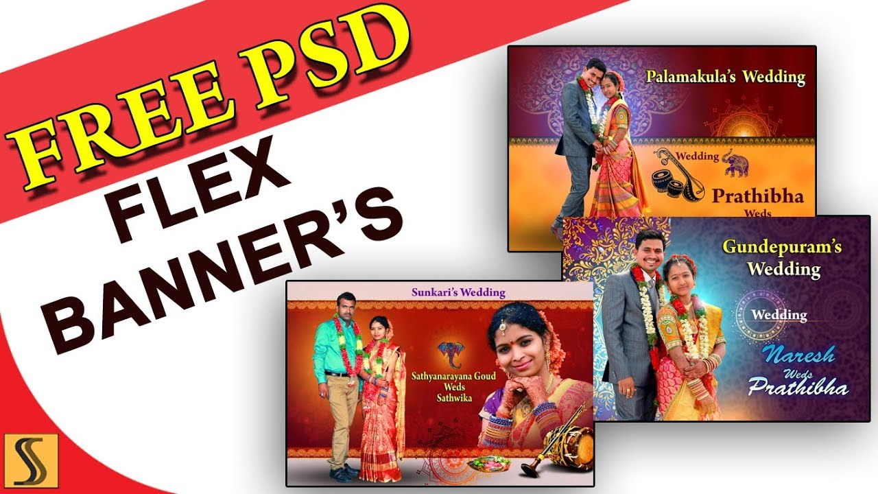2018 Free Psd Design Flex Banners Templates For Photoshope Ss Free Psd 279 Youtube