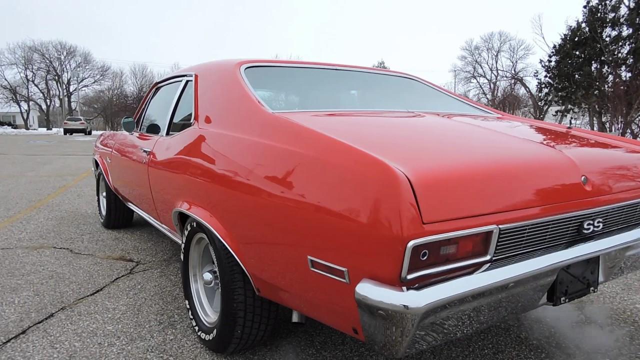 All Chevy 1971 chevrolet nova : 1971 chevy nova ss red new for sale at www coyoteclassics com ...