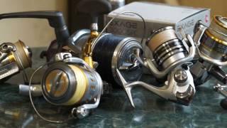 видео Рыболовные катушки. Виды катушек