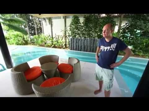 $2 000 000 Home in Singapore with underwater media room!