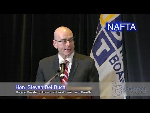Steven Del Duca talks about NAFTA