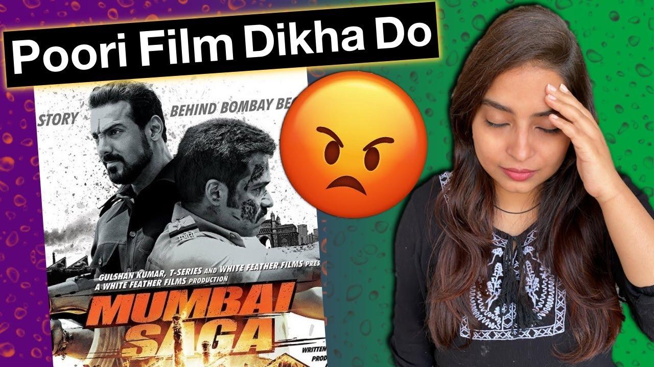 Mumbai Saga Trailer REVIEW | Deeksha Sharma