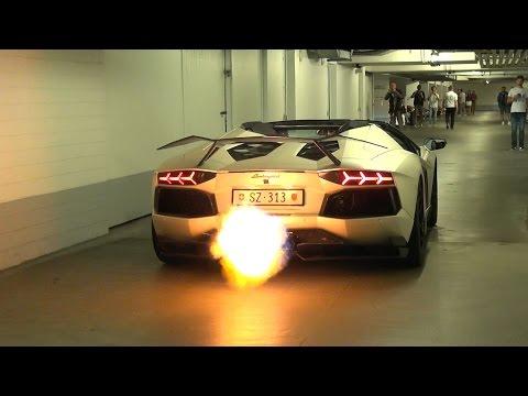 Novitec Torado Lamborghini Aventador LP760 - Spitting Flames!
